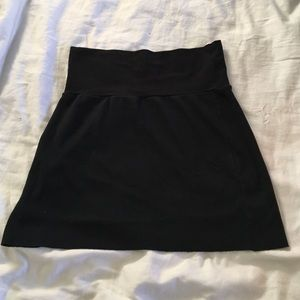 American apparel black skirt size medium