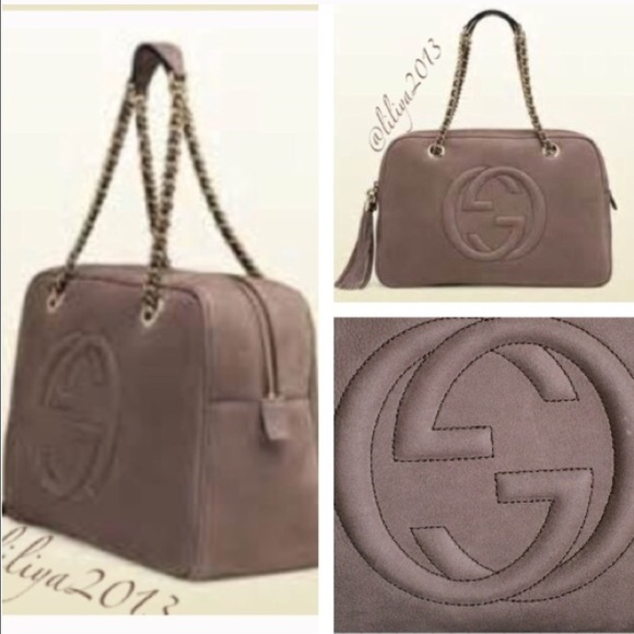 gucci bags for sale. gucci bags - ❗️sale🎉hp🎉gucci soho nuback leather shoulder bag for sale