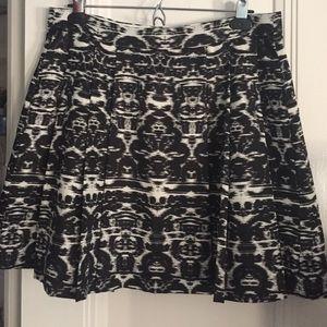 J crew silk skirt