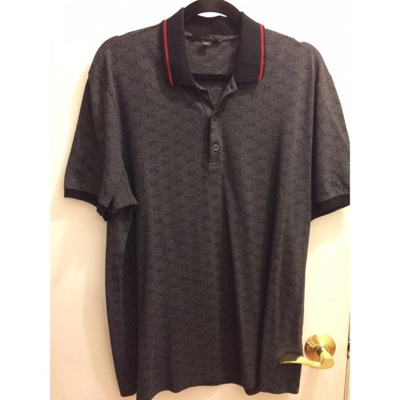 9f621c2b Gucci Shirts | Authentic Mens Polo Shirt | Poshmark