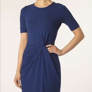 Dorothy Perkins Blue Soft Touch Knot Dress