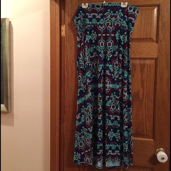 25 lularoe dresses skirts lularoe maxi skirt from