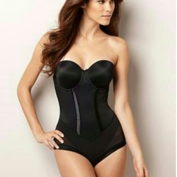 e21c75ffaab9a Maidenform Flexees Easy-Up Strapless Body Briefer