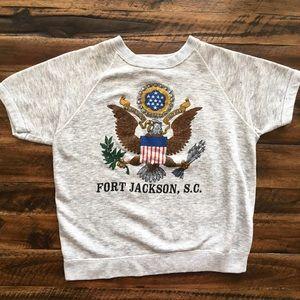 '70s / Fort Jackson Vintage Pullover