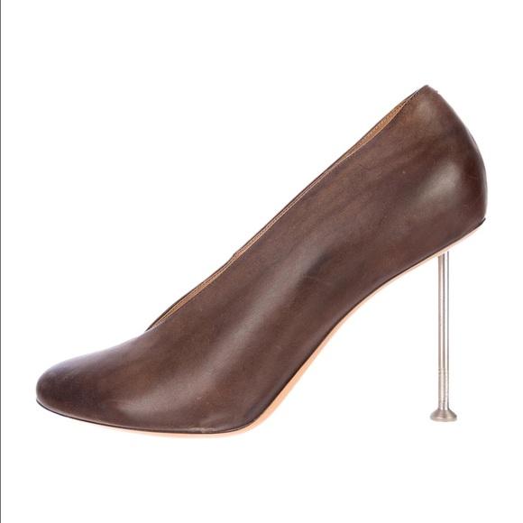 Maison Martin Margiela pumps with screw heels