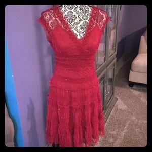 Studio M Beautiful Red Dress
