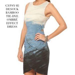 NWT GYPSY 05 TIE-DYE OMBRÉ EFFECT DRESS