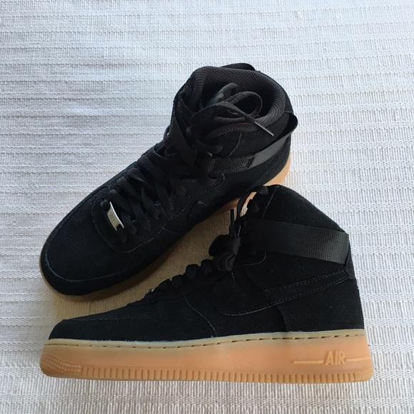 Nike Shoes Womens Air Force 1 Hi Suede Sneakers Poshmark