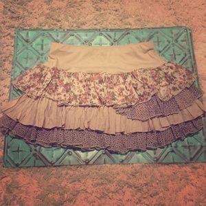 Boheme Dresses & Skirts - Bohme Boutique ruffled skirt
