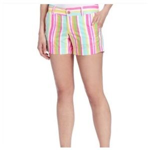 Lilly Pulitzer spicy stripe shorts