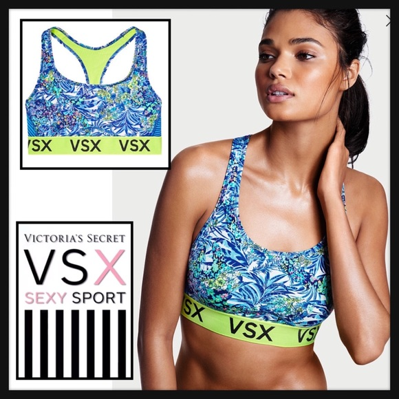 fa2dc639a5347 Victoria s Secret VSX L The player Sports Bra