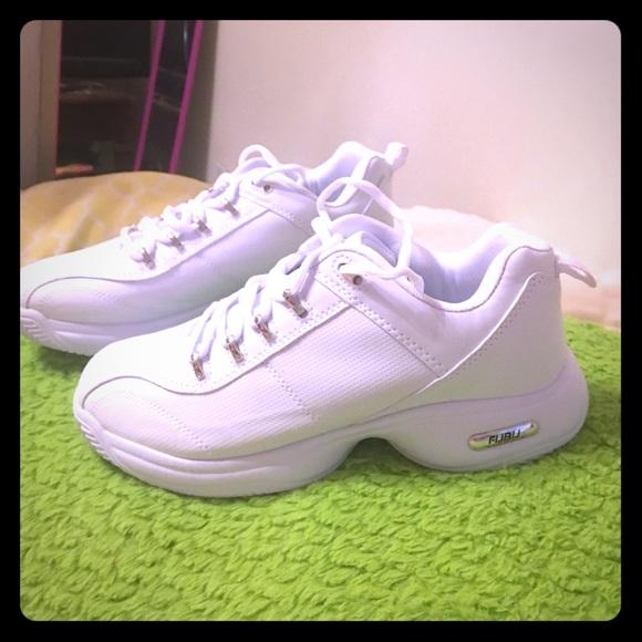 FUBU Shoes | White Shoes | Poshmark