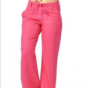 NEW ‼️ Wide-Leg Linen Pants (teal)