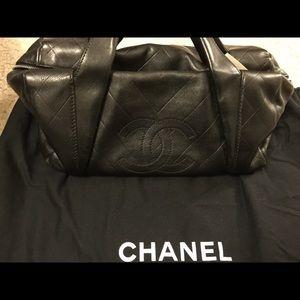 Chanel Lambskin Bowler bag