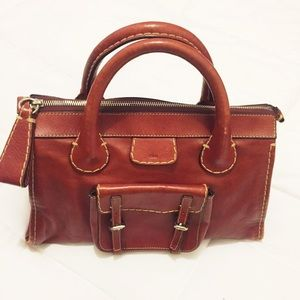 Red Chloe Edith Bag