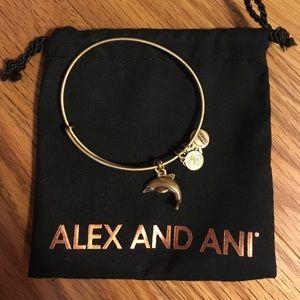 Alex & Ani Jewelry - alex & ani dolphin bangle