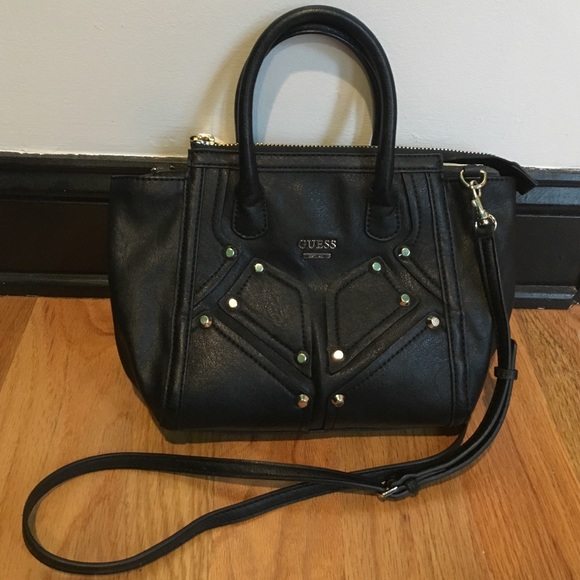 fcd0e5e9bc Guess Handbags - Guess Black Crossbody Small Purse