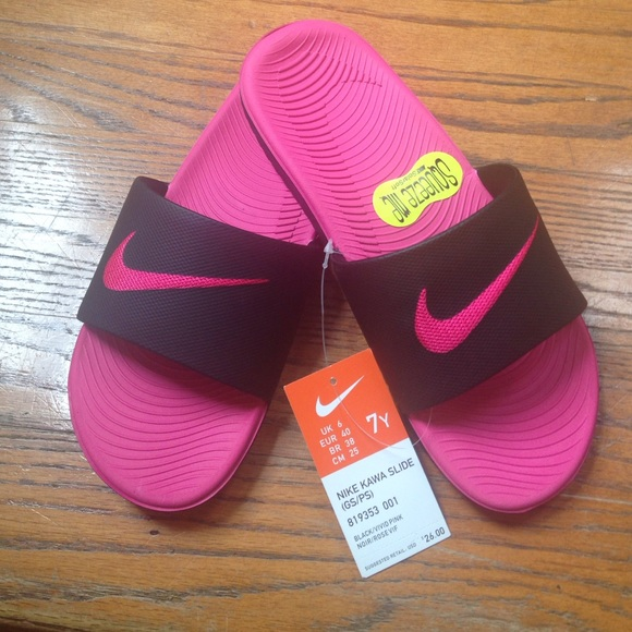 buy cheap e76d8 98546 Nike Kawa slides size 6 NWT