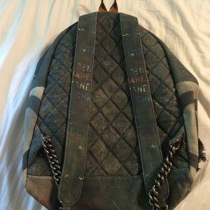 e94875bd3d1e CHANEL Bags | Graffiti Backpack Must Go Make Offer | Poshmark