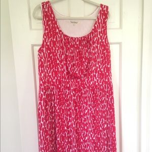 Dresses & Skirts - Red and White made in USA Dress XL
