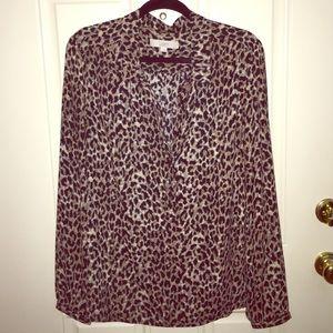 LOFT leopard print tunic