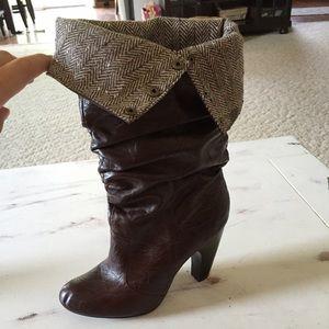 Shoes - Boutique calf high boots
