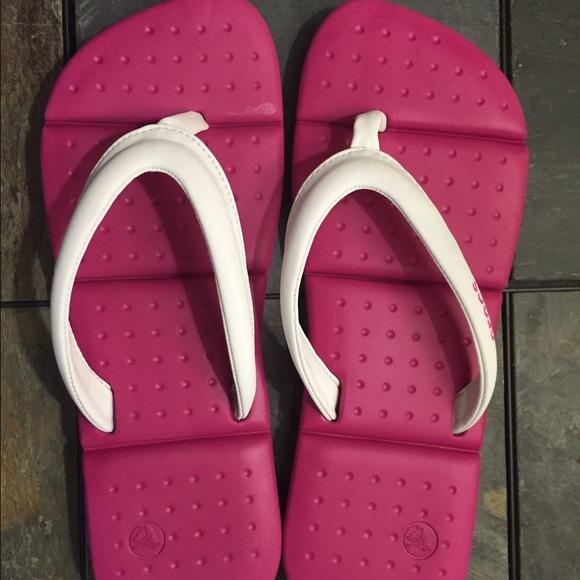 df5bbab5d89 crocs Shoes - Crocs flip flops. Super squishy. CLOSET CLEAROUT
