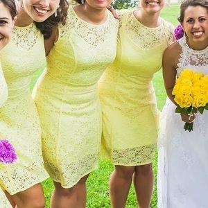 c036d4ee822 Macy s Dresses - Beautiful pale yellow dress