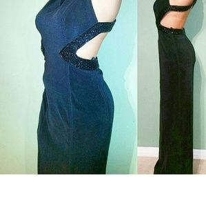 Dresses - Prom dress with black bead detail