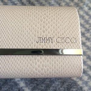 c60c98ef98b1 Jimmy Choo Accessories - Cream ivory Jimmy Choo Sunglasses case