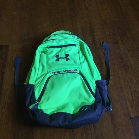 834c7e4463a6 Neon Green Backpack. M 575490d9d14d7bcfba00d987
