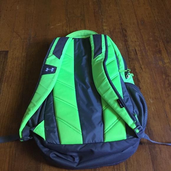 2b3bc8b788a1 neon green under armour backpack m 575490dd99086afbc8062c28