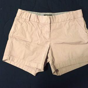 FINAL PRICE 🌟 Cute J Crew lilac chino shorts!