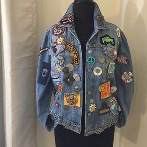 Vintage Custom Levi's Jacket