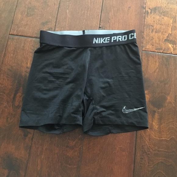 nike pro combat running shorts