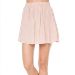 LAST CHANCE Blush pink Brandy Melville skirt