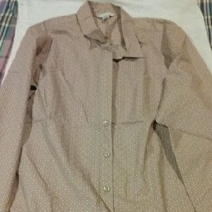 Garnet Hill Tops - Button-down print shirt Garnet Hill, size 10