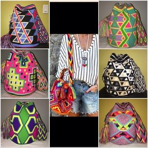 Wayuuchilabags Handbags - 2x HP✅ Shoulder/ crossbody festival bucket bags