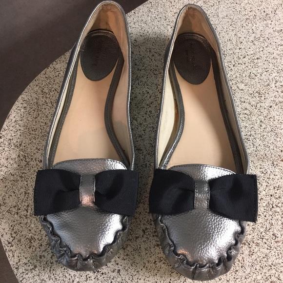 d2ac9a1c27d kate spade Shoes - Kate Spade Metallic Gold Loafer Flats Sz 10