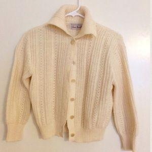 Sweaters - 1950's cardigan