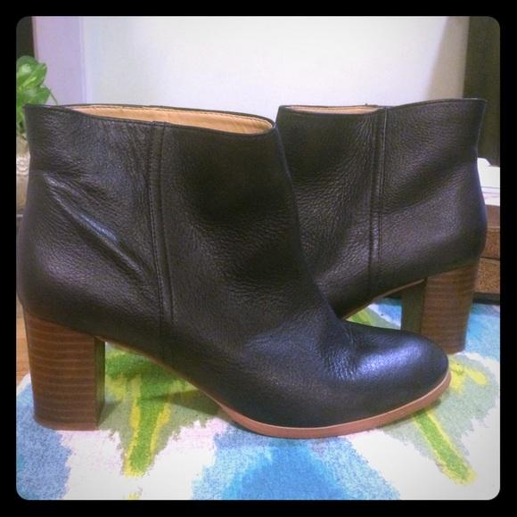 13db8d820907 Joe Fresh Shoes - Black leather ankle boots