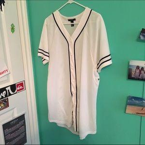 Dresses & Skirts - Baseball Dress. ❌❌❌SOLD❌❌❌