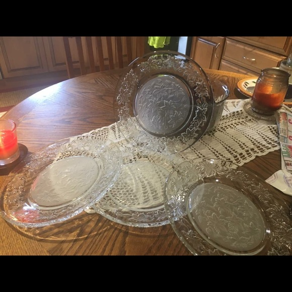 Princess house Fantasia dinner plates & Other | Princess House Fantasia Dinner Plates | Poshmark