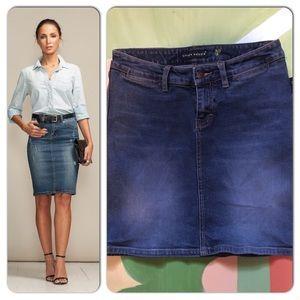 Sergio Valente Denim Skirt Size M