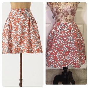 Anthropologie Lapel Skirt by Girls from Savoy