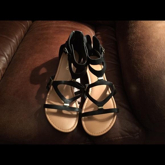 a9592c3b1e9 Lane Bryant Shoes - Lane Bryant Gladiator sandals - wide width
