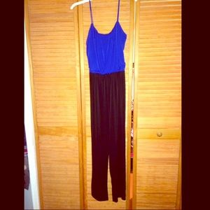 Pants - ⚫️🔵Dressy Color Block Jumpsuit🔵⚫️