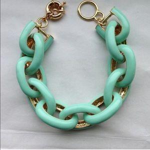 Mint Link Bracelet
