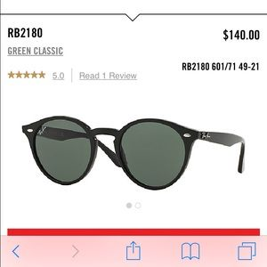 Great Condition Black Ray Bans