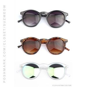 New! Cat Eye Mirrored Sunglasses • 5 Colors